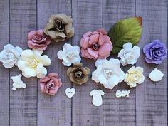 Скрапбукинг мастер-класс: цветы из бумаги. Обзор китайских ножей для выр...