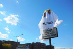 Burger King Dressed Up as the Ghost of McDonald's in This Scary Good Halloween Prank | Adweek