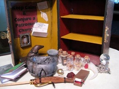A DIY Harry Potter potion kit.
