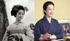 Mineko Iwasaki - as maiko and now