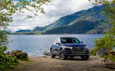 Download wallpapers Audi SQ5, 2018 cars, offroad, crossovers, blue SQ5, german cars, Audi