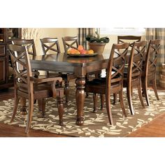 9 Piece Dining Set - Bernie And Phyls