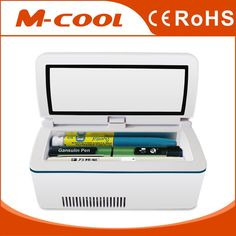 m-cool portable insulin mini fridge with car adapter features: Fast cooling keeping 36℉- 46℉ within the environment of 86℉ 24 hours standby time high capacity ( three insulin inject pens, about nine insulin or interferon and about twenty refills )      Portable and fashionable Large LCD display, show the time and refrigeration temp clearly, interchangeable between 'C and 'F    Payment: Payment must be made within 7 days of the auction end time.