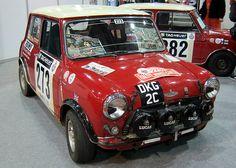 DKG 2C Ausitn Mini Cooper S .Full group 6 Replica,winner 2010 Ralley des Alpes