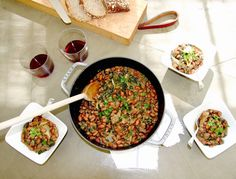 crockpot recipe: a healthier take on chili - bean and kale stew