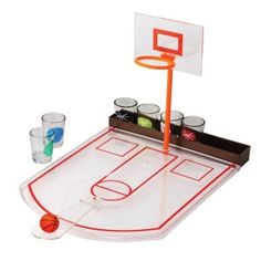 "Shop Online Basketball Drinking Game Make a Shot! Take a Shot! Includes 6 shot glasses, desktop ""basketball court"" and basketball A Fun and Functional Basketball Game Great Gift for Anyone -Aliens Poop Christmas Gifts For Men, Christmas Fun, Holiday Gifts, Basketball Shooting, Basketball Shot, Basketball Players, Basketball Party, Shot Drinking Games, Basketball Boyfriend"