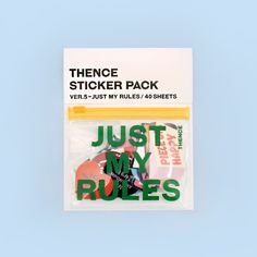 [THENCE [덴스]] THENCE STICKER PACK_VER.5