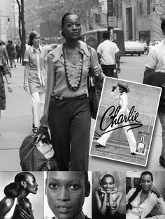 In 1973 when Revlon released its fragrance Charlie, ad campaigns featured models Shelley Hack, Charlie Stember, and, notably, Naomi Sims, making Sims the first African American woman in history to be featured in a cosmetic company's advertising.