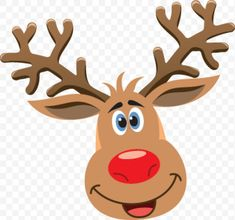 Party games christmas reindeer antlers ideas for 2019 Christmas Rock, Christmas Deer, Christmas Games, Christmas Crafts, Black Christmas, Cartoon Reindeer, Reindeer Face, Reindeer Antlers, Reindeer Craft