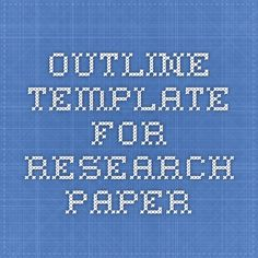 How do I write a research paper outline on an abstract cultural topic?