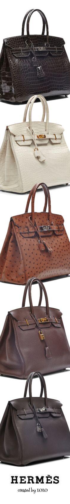 Hermès ~ Vintage 'Birkin' Bags via Moda Operandi