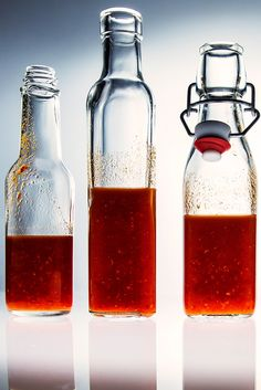 This homemade chile vinegar, adapted from Daniel Holzman at The Meatball Shop,  is about to replace your favorite hot sauce.