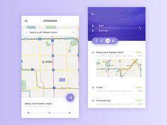 Map App Design