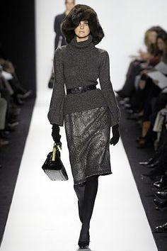 Oscar de la Renta Fall 2007 Ready-to-Wear Fashion Show - Caroline Trentini