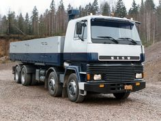 Sisu SM 300 8x4 '1983–96 Big Rig Trucks, Old Trucks, Commercial Vehicle, Heavy Equipment, Motor Car, Cars And Motorcycles, Transportation, Vehicles, Coaches