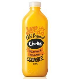 Charlie's Quenchers. The copywriting on these are great.