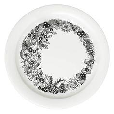 Arabia Piilopaikka plate 26 cm