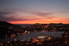 Sunset Dubrovnik