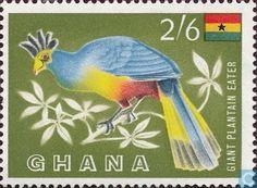 Postage Stamps - Ghana - Bird