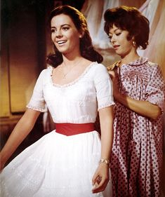 Maria's white and red dress in The West Side Story.