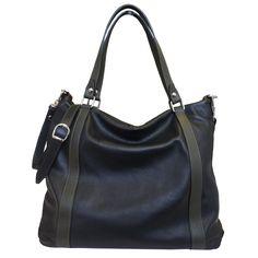 Designer Italian Soft Leather Hobo Handbag
