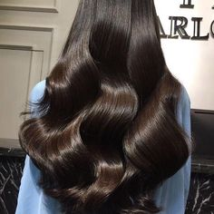 Find images and videos about girl, fashion and style on We Heart It - the app to get lost in what you love. Balayage Straight Hair, Balayage Hair, Beautiful Long Hair, Gorgeous Hair, Dull Hair, Aesthetic Hair, Brunette Hair, Human Hair Wigs, Hair Looks