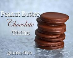 Gluten-Free Peanut Butter Chocolate Thin Cookies