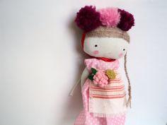 folk doll, rag art doll