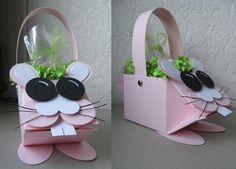 Little bunny mini milk carton stampin up.  www.biancahobbyhoek.nl