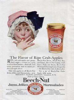 1920 Beech-Nut ad