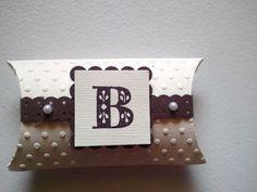 polka dot pillow box