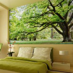 Fototapete 3d wand angepasst modernes design Mural grünen tv hintergrundbild 3d factory outlet