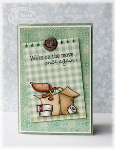 There She Goes Clear Stamps: TSG (Again!) NEW Trendsetter Cards