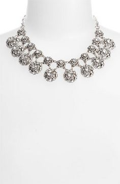 I love this kate spade new york 'putting on the ritz' collar necklace (via Shop It To Me)