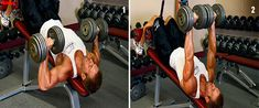 5 Killer Exercises to Tone Your Lower Pecs - True Bodybuilding - Page 2 Lower Chest Workout, Exercises, Bodybuilding, Exercise Routines, Excercise, Work Outs, Workout, Build Muscle
