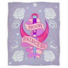 Moon Princess Blanket | Blankets, Fleece Blankets and Throws | HUMAN