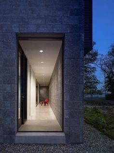 Architect Robert M. Gurney designed the Lujan house in Ocean View, Delaware