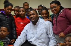 """""""It's second nature for me to be able to relate to young people,"""" says former Deacon basketball No. 51 Stan King For the last 18 years he's been mentoring youth at the Madison Square Boys' & Girls' Club in Brooklyn. Wake Forest University, Boys And Girls Club, Winston Salem, Madison Square, Student Studying, Stand Tall, Young People, Brooklyn, Youth"""