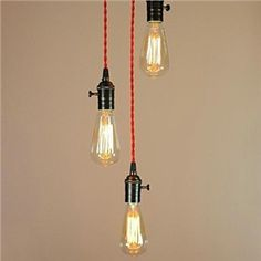 Simple Retro Edison Light Bulb Absorb Dome Light