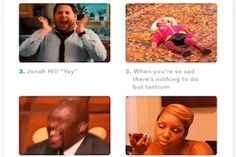 The most shared GIFs of 2017 were of a man blinking and a baby crying, according to this research, which also highlights the most emotional moments of 2017 as viewed through GIFs.