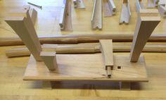 Kingfisher WoodWorks LLC: two weapon katana kake