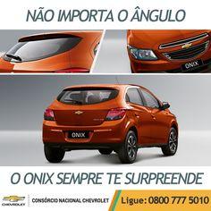 Não importa o ângulo, o Chevrolet #Onix sempre vai te conquistar ;) www.consorciodeauto.com.br