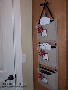 DIY Mail Organizer