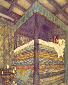 "Dulac: ""Princess and the Pea"""
