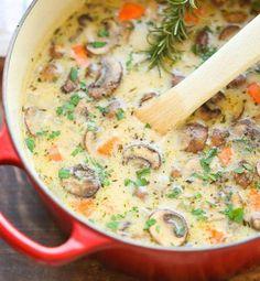 Soupe de champignons - Cosmopolitan.fr
