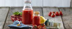 Supershot med jordgubbar - Kockens Hot Sauce Bottles, Smoothies, Lime, Drinks, Food, Smoothie, Drinking, Lima, Meal