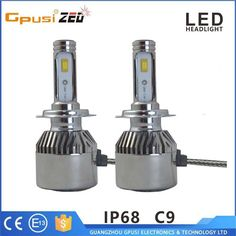 Automobiles & Motorcycles car led headlight 6000k 4800lm h3 led fog lights for bmw x6