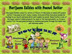 Marijuana Edibles With Peanut Butter