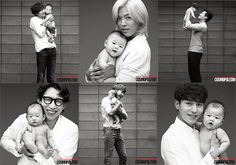 Lee Dong Wook, WINNER, Lee Kwang Soo, and more pose with babies to promote adoption