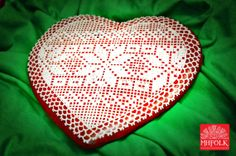 Big Honeybread  Handmade Hungarian Folk Art motif by MHFolk, $35.00